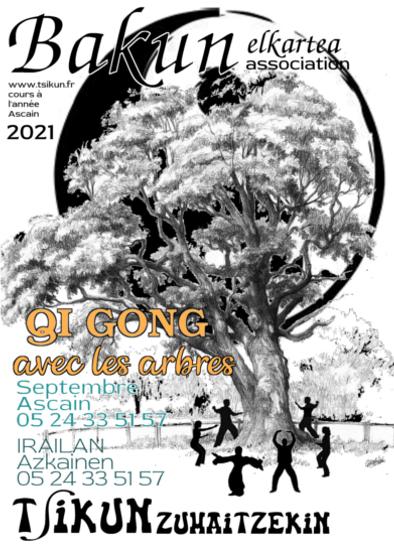 Affiche Qigong des arbres